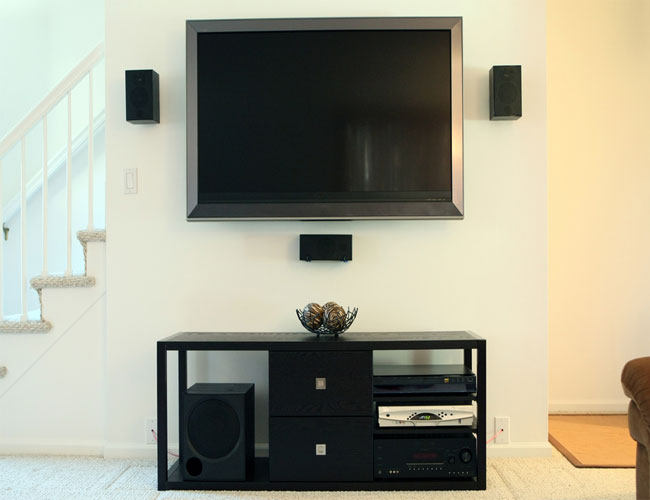 Sala De Home Theater Pequena